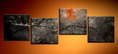 Modern Oil Paintings on canvas abstract painting -set09229