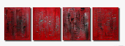 Modern Oil Paintings on canvas abstract painting -set09230