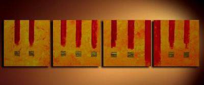 Modern Oil Paintings on canvas abstract painting -set09231