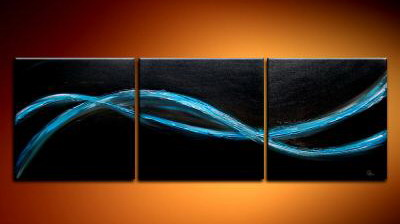 Modern Oil Paintings on canvas abstract painting -set09235