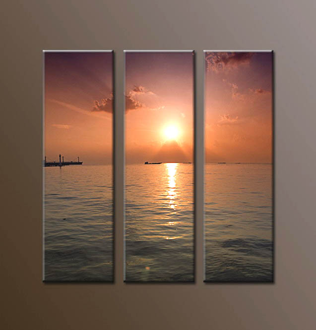 Modern Oil Paintings on canvas seascape painting -set10021