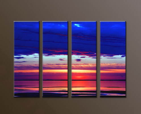 Modern Oil Paintings on canvas seascape painting -set10037