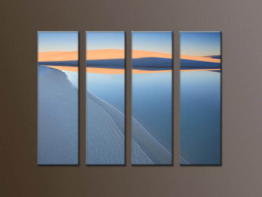 Modern Oil Paintings on canvas seacoast painting -set10042