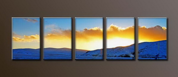 Modern Oil Paintings on canvas seascape painting -set10151