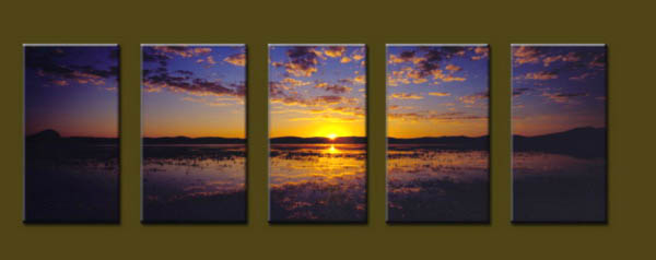 Modern Oil Paintings on canvas seascape painting -set10180