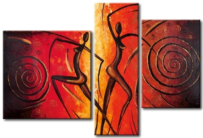 Modern Oil Paintings on canvas abstract painting -set12005