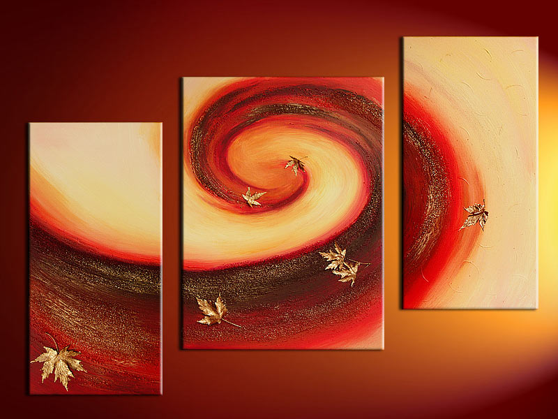 Modern Oil Paintings on canvas abstract painting -set12024