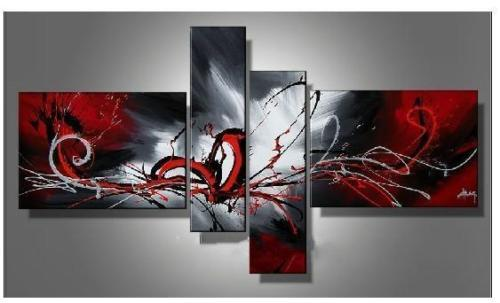 Modern Oil Paintings on canvas abstract painting -set12042