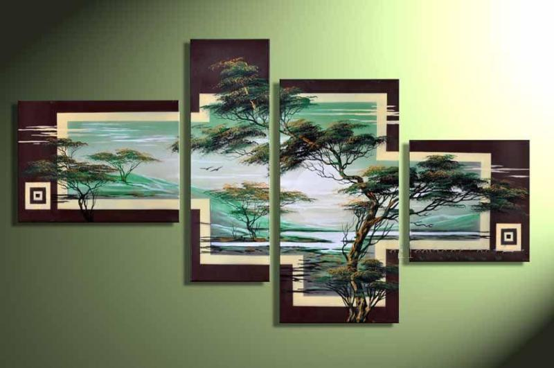 Modern Oil Paintings on canvas abstract painting -set12043