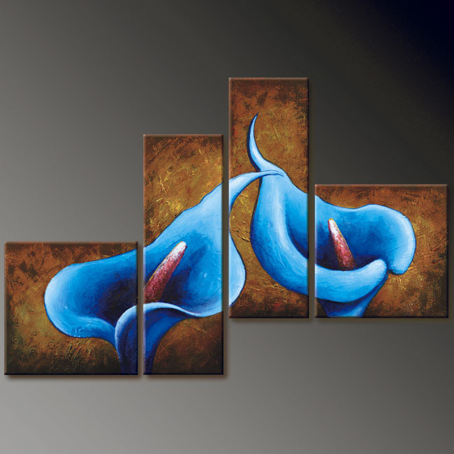 Modern Oil Paintings on canvas abstract painting -set12054