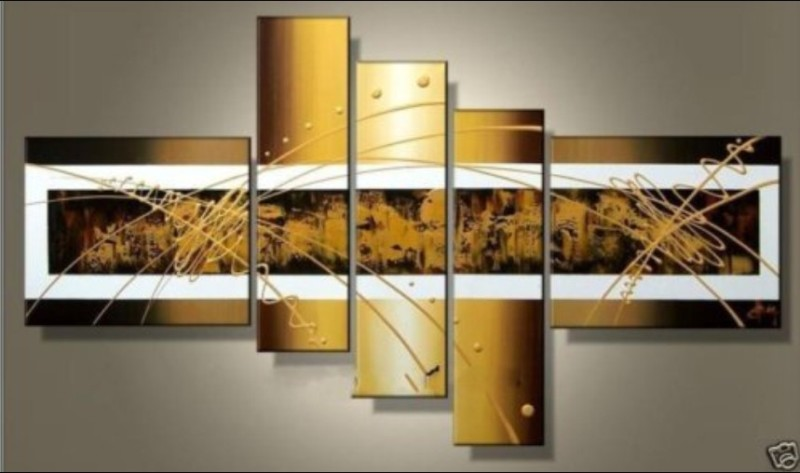 Modern Oil Paintings on canvas abstract painting -set12083