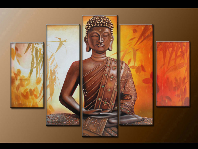Contemporary zen art Buddha oil painting Buddha004