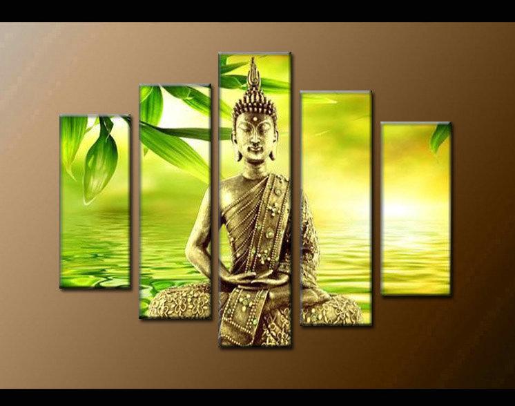 Contemporary zen art Buddha painting Buddha007