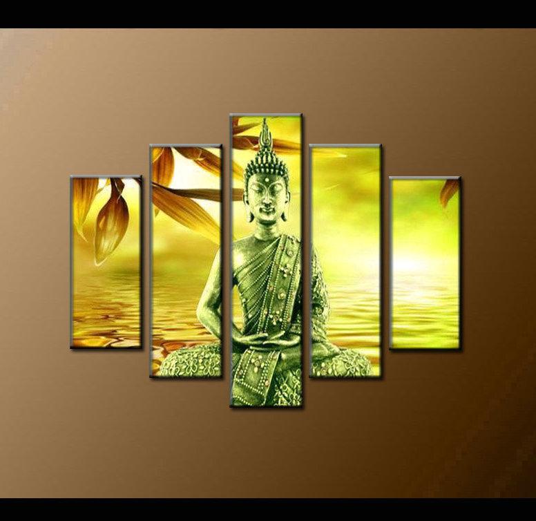 Contemporary zen art Buddha painting Buddha011