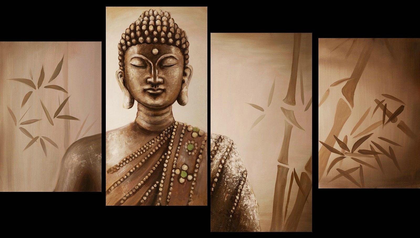Contemporary zen art Buddha painting Buddha012