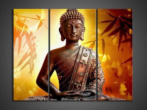 Contemporary zen art Buddha painting Buddha013