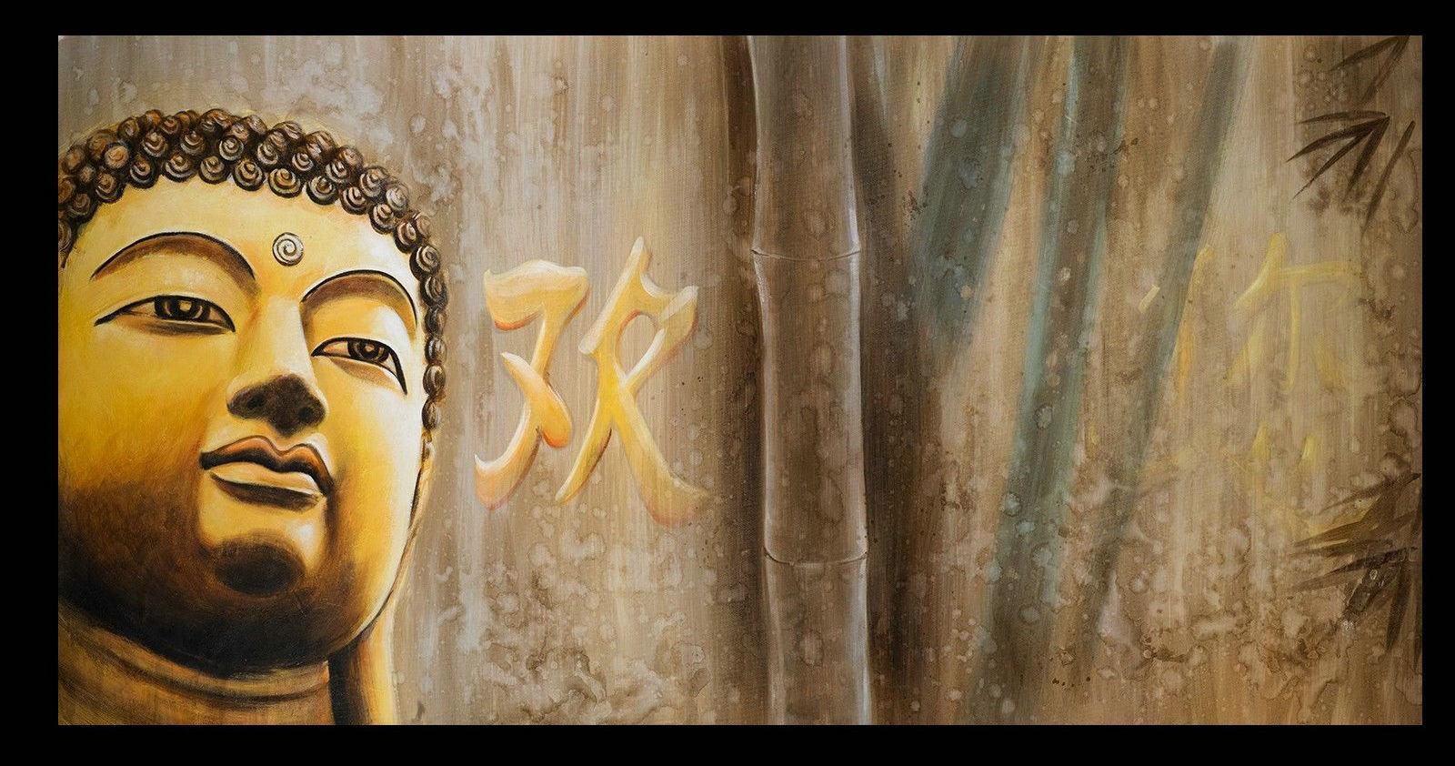 Contemporary zen art Buddha painting Buddha017