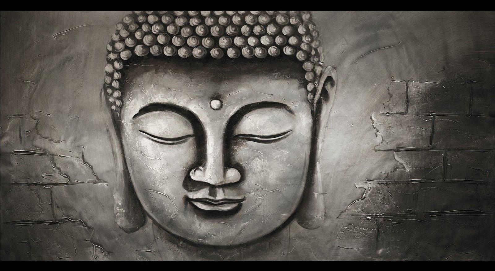 Contemporary zen art Buddha painting Buddha018