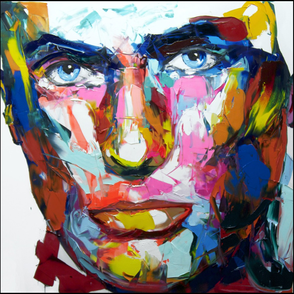 Francoise Nielly Portrait Palette Painting Expression Face013