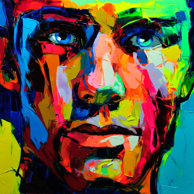 Francoise Nielly Portrait Palette Painting Expression Face100