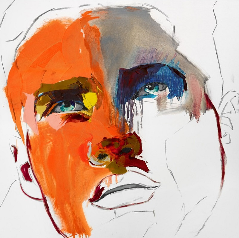 Francoise Nielly Portrait Palette Painting Expression Face125
