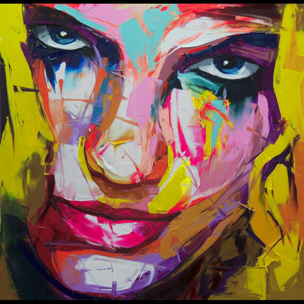 Francoise Nielly Portrait Palette Painting Expression Face129