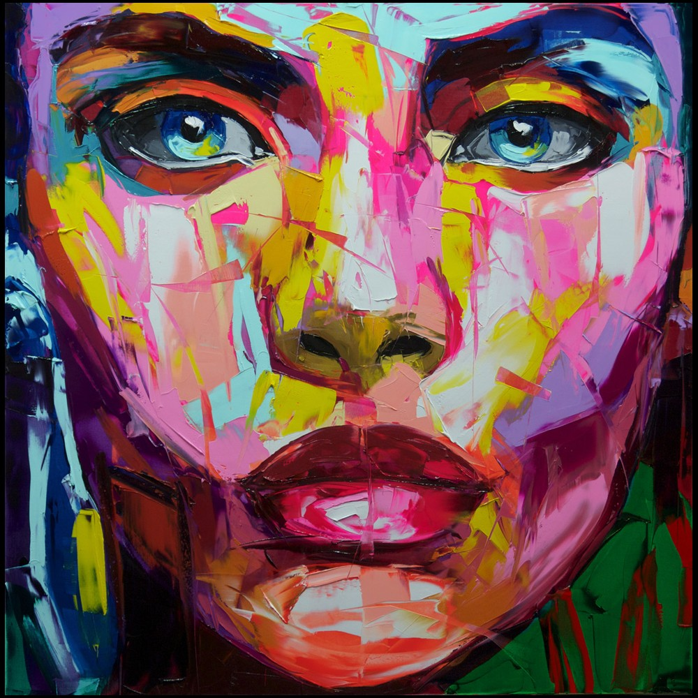 Francoise Nielly Portrait Palette Painting Expression Face142