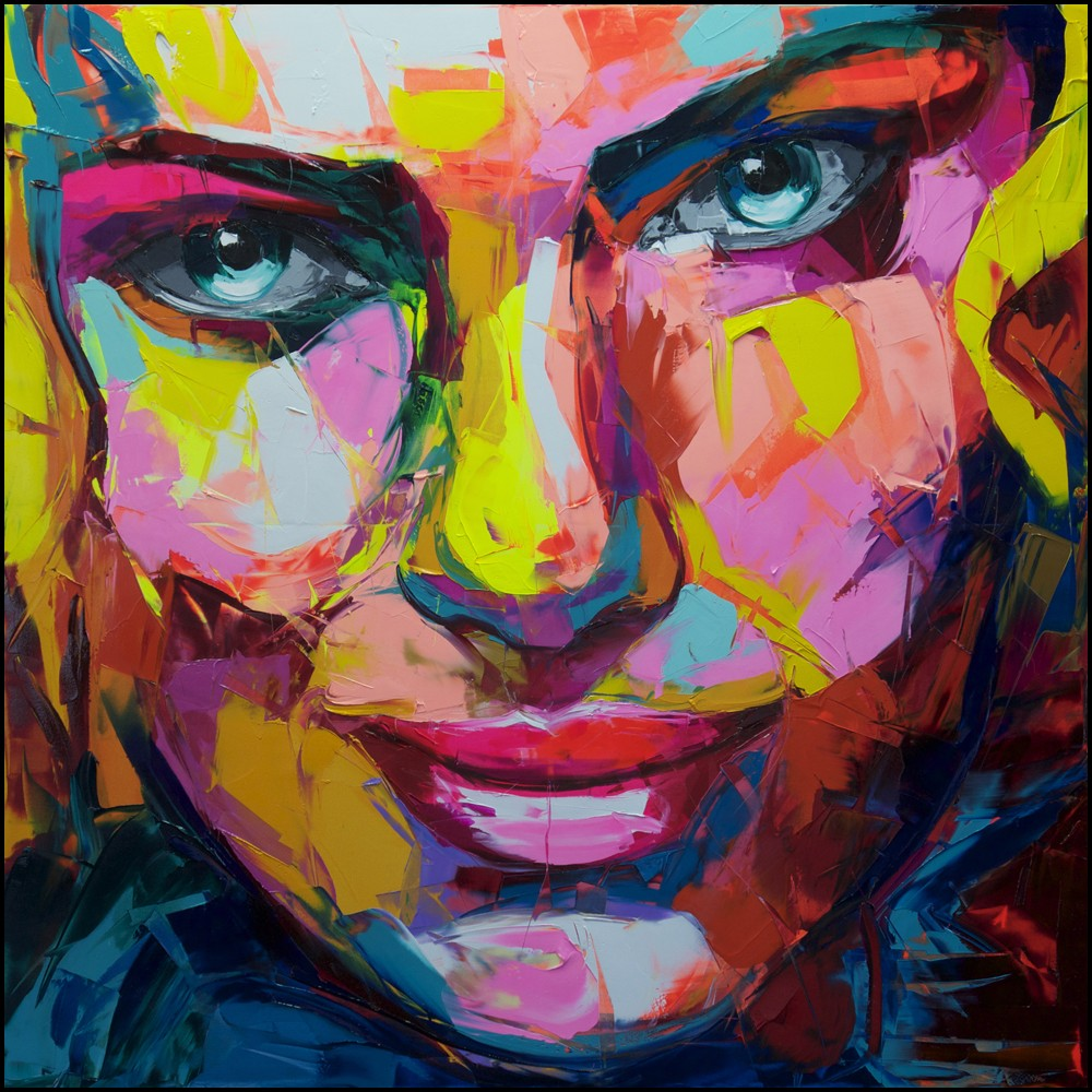 Francoise Nielly Portrait Palette Painting Expression Face160