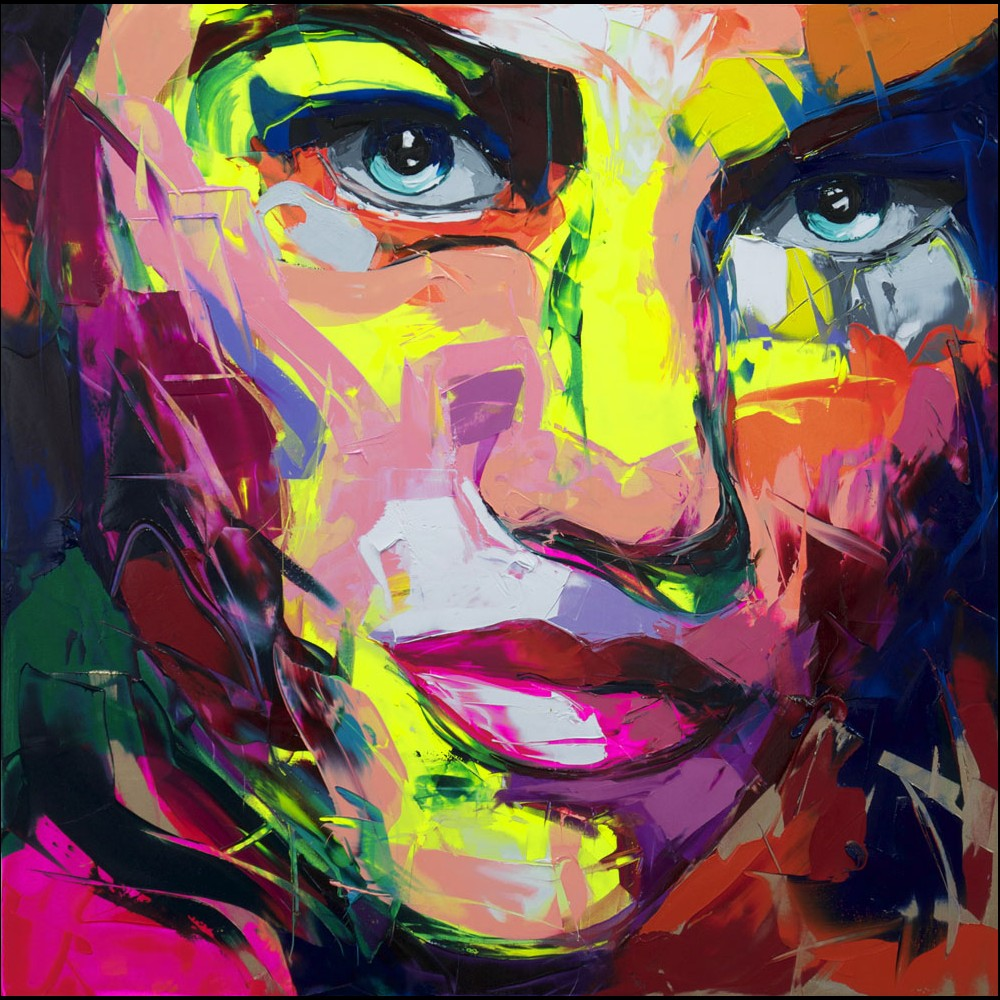 Francoise Nielly Portrait Palette Painting Expression Face163