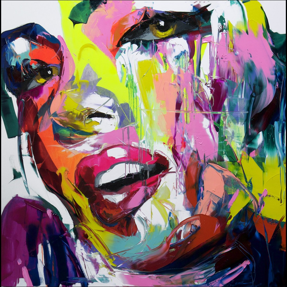 Francoise Nielly Portrait Palette Painting Expression Face168