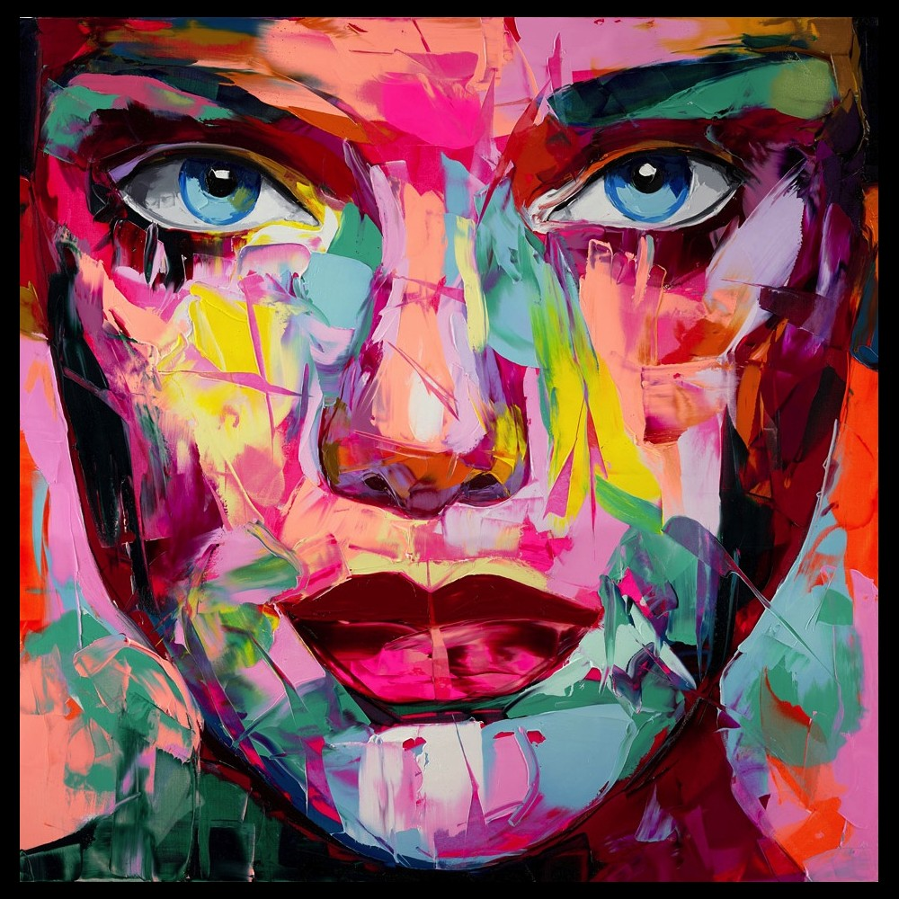 Francoise Nielly Portrait Palette Painting Expression Face169