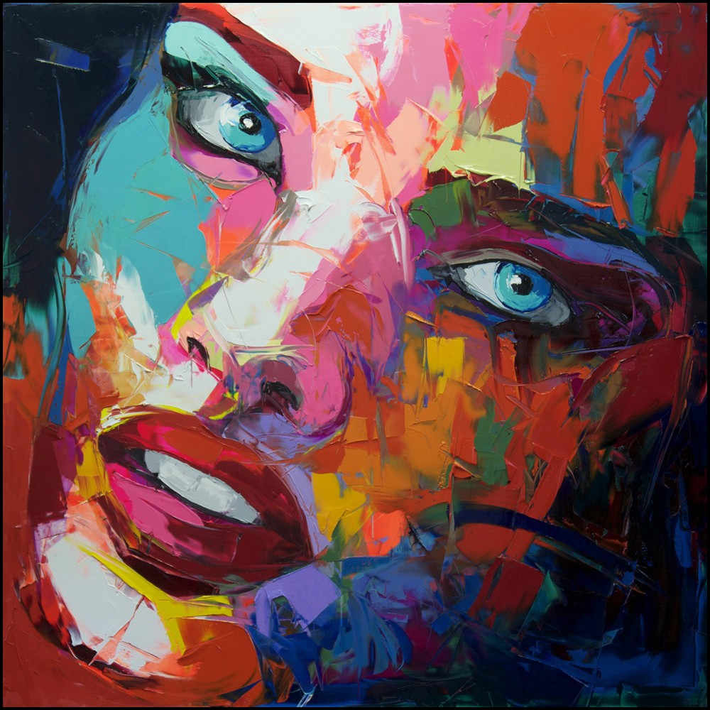 Francoise Nielly Portrait Palette Painting Expression Face171