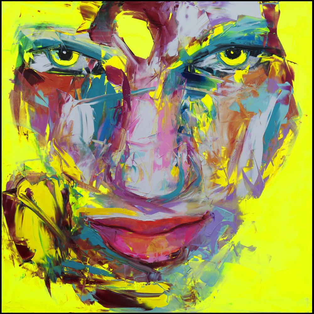 Francoise Nielly Portrait Palette Painting Expression Face183