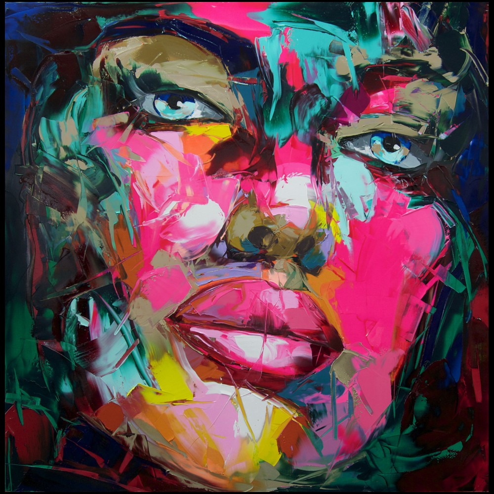 Francoise Nielly Portrait Palette Painting Expression Face190