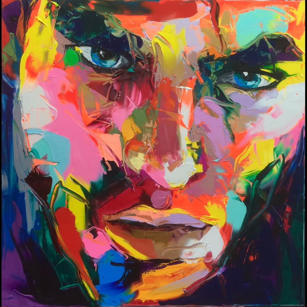 Francoise Nielly Portrait Palette Painting Expression Face196