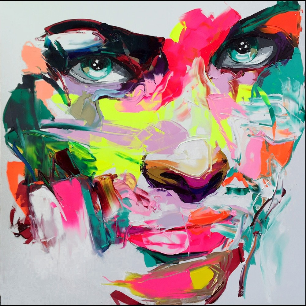 Francoise Nielly Portrait Palette Painting Expression Face200