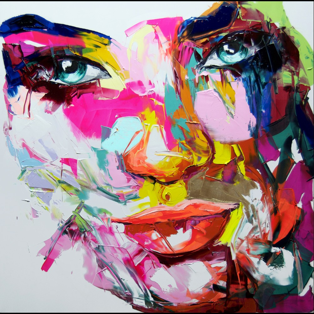 Francoise Nielly Portrait Palette Painting Expression Face213