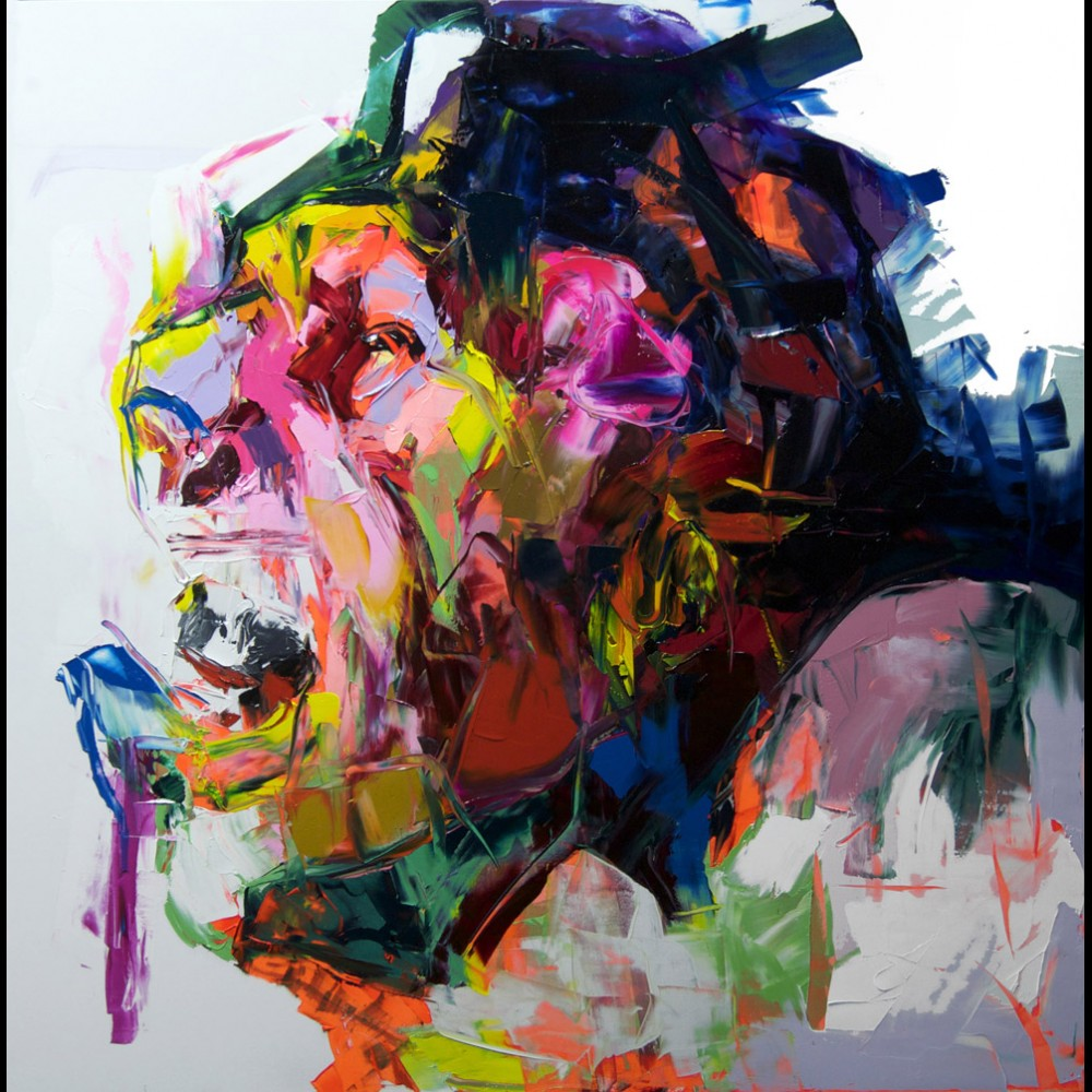 Francoise Nielly Portrait Palette Painting Expression Face222