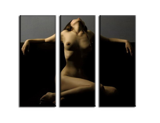 Modern oil paintings nude girl painting nude003