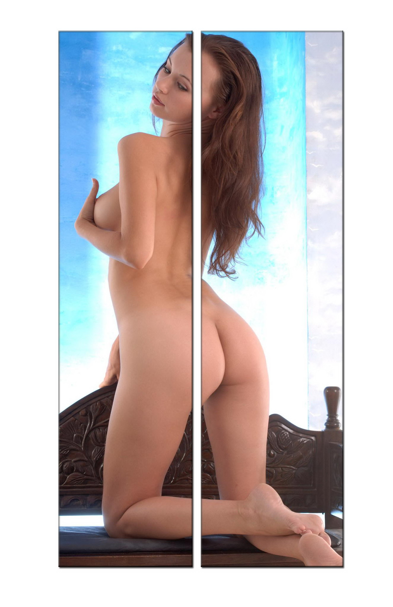 Nude girl oil painting nude008