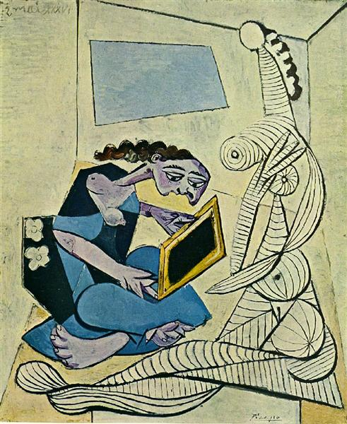 Pablo Picasso Woman In The Interior Femmes Dans Un Interieur