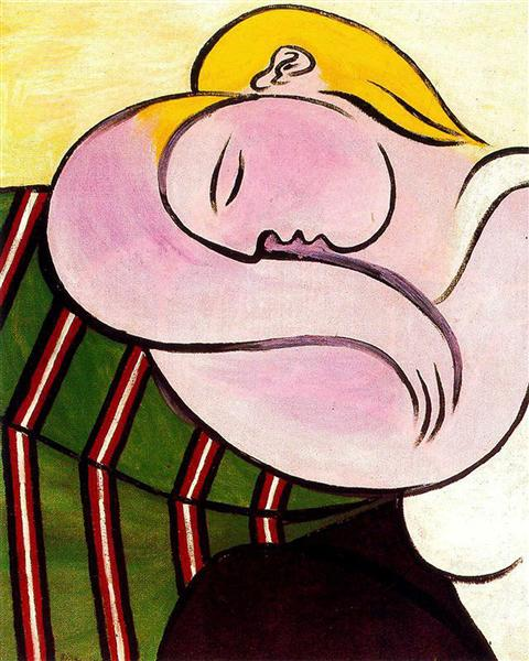 Pablo Picasso Woman With Yellow Hair Femme Aux Cheveux Jaunes