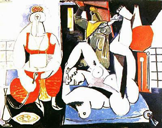 Pablo Picasso Oil Paintings Women Of Algiers Female Nude