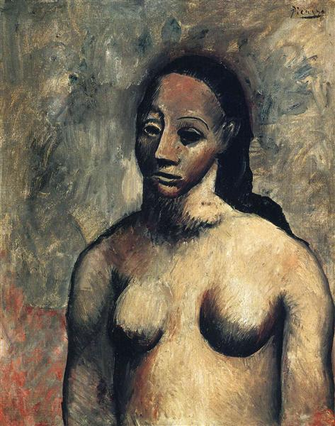 Pablo Picasso Oil Painting Bust Of A Woman