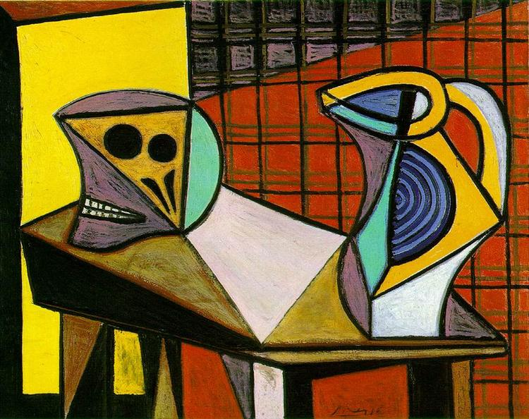 Pablo Picasso Painting Crane And Pitcher Crane Et Cruche