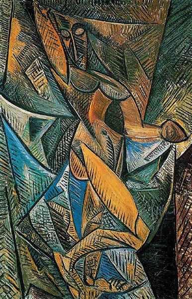Picasso Dance Of The Veils La Danse Au Voiles Analytical Cubism