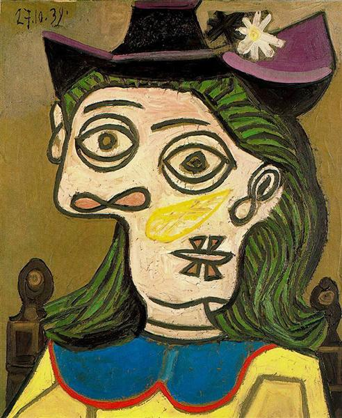 Pablo Picasso Oil Painting Dora Maar Female Portraits