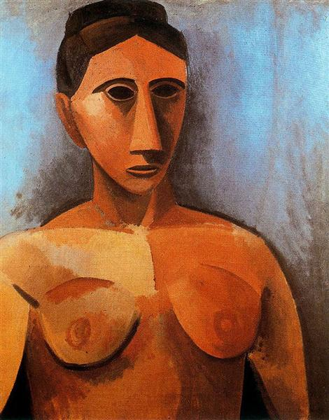 Pablo Picasso Classical Oil Paintings Female Bust