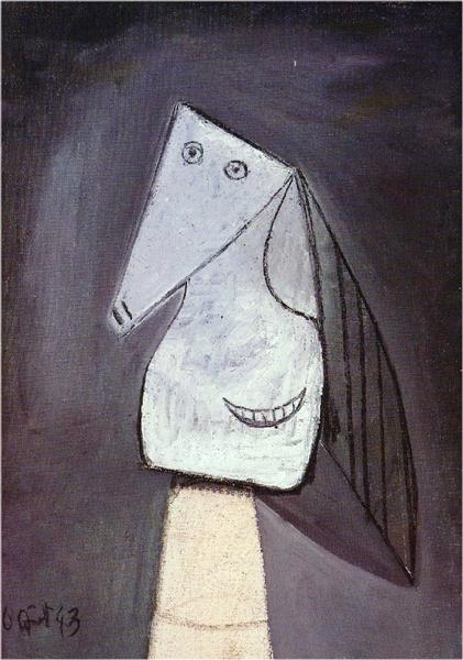 Pablo Picasso Classical Oil Paintings Head Of Woman Surrealism