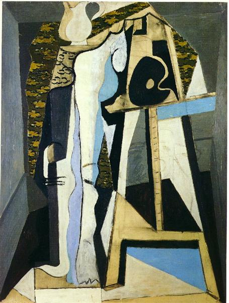Pablo Picasso Interior With Easel Interieur Avec Chevalet
